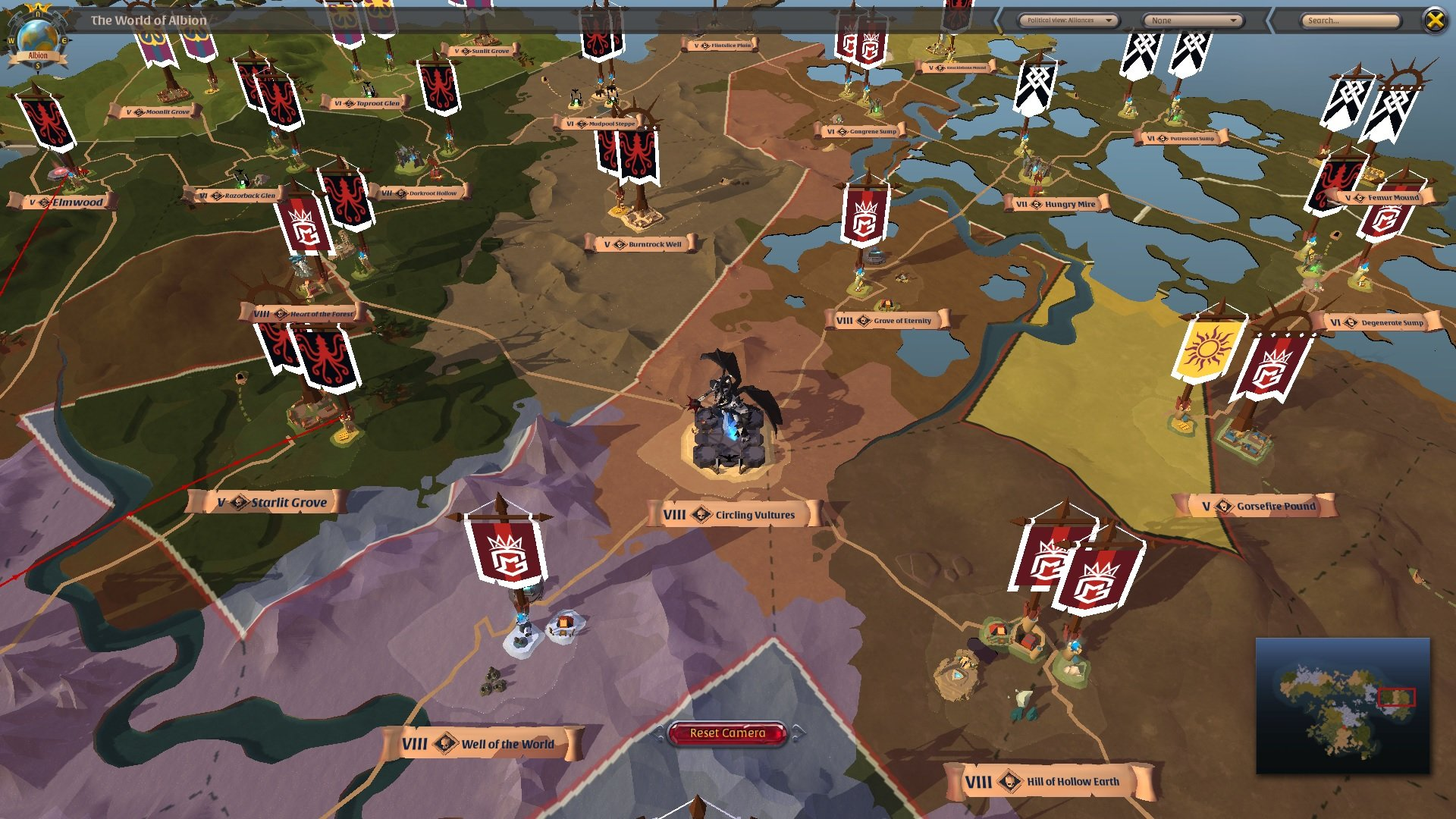 Albion Online steam patch guild not found