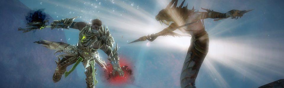 Guild Wars 2: Disponibile la patch che migliora il combattimento subacqueo