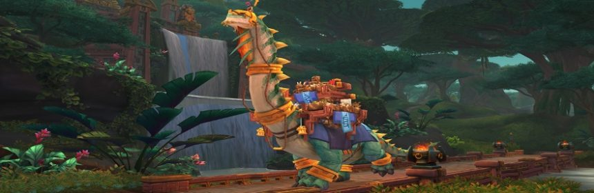 World of Warcraft: Con Battle for Azeroth arriva una mount da 5 milioni di gold