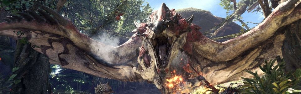 Monster Hunter World uscirà su PC il 9 agosto, ecco requisiti e trailer