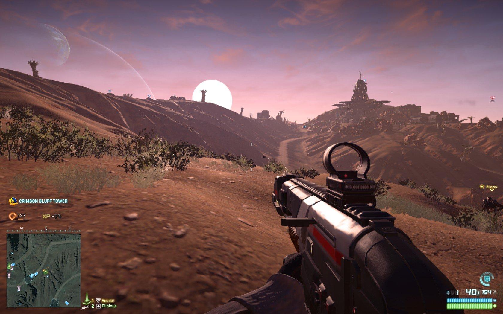 PlanetSide 2 free to play