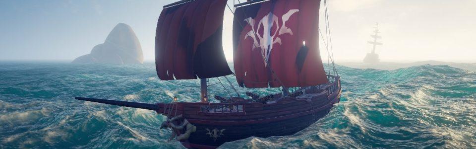 Sea of Thieves: Stasera streaming di Cursed Sails, nuovo update gratuito