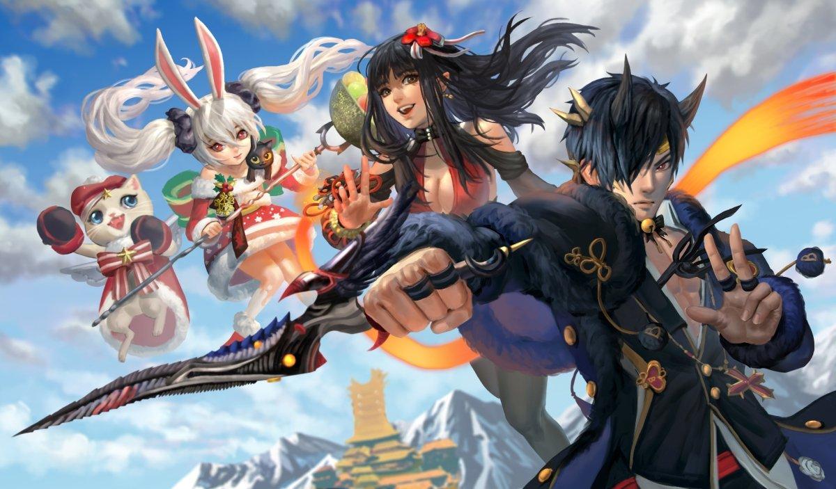 Anime Blade & Soul