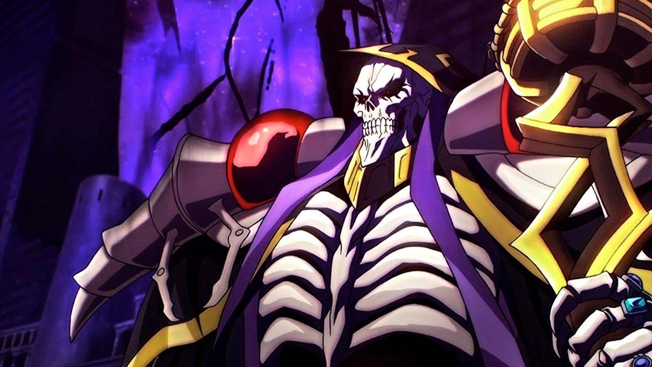 Anime Overlord Momonga
