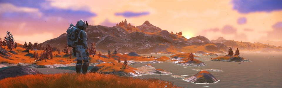 Streaming di No Man's Sky: Next con Plinious