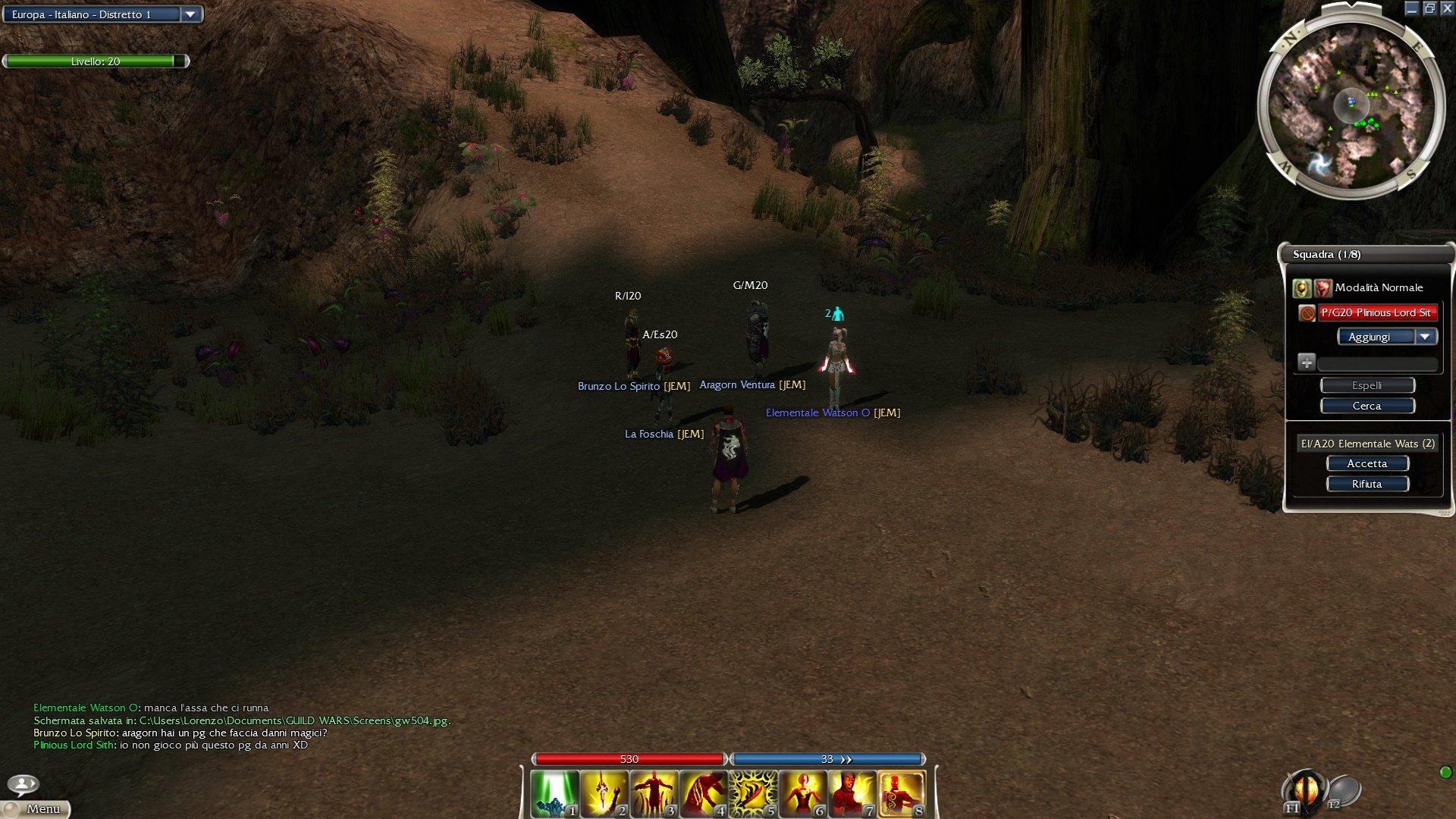 bacheca gilde JEM Guild Wars 1 GW1