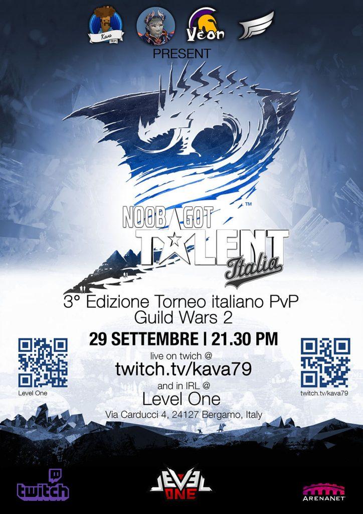 Intervista Noob Got Talent Italia Guild Wars 2