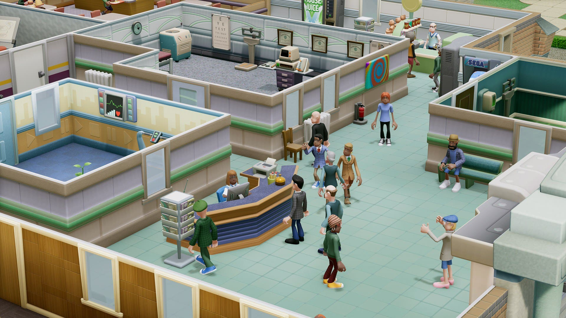 Two Point Hospital Recensione steam