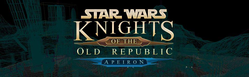 Star Wars: Knights of the Old Republic, Lucasfilm blocca lo sviluppo del remake amatoriale Apeiron