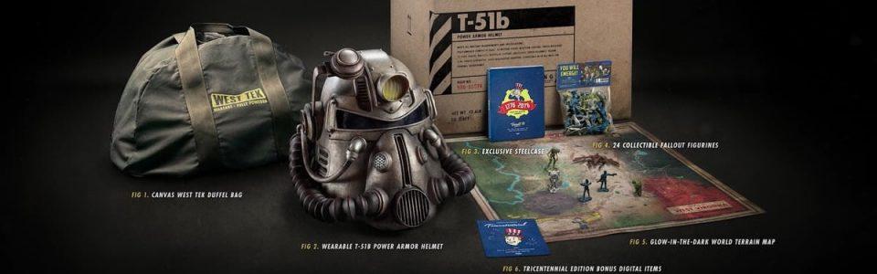 Fallout 76: la borsa dell'edizione Power Armor è inferiore a quella pubblicizzata