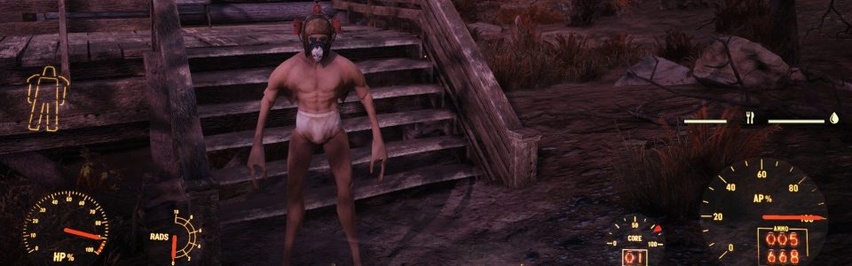 Fallout 76: un bug trasforma i personaggi in mostri deformi