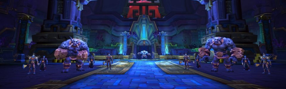 World of Warcraft Battle for Azeroth: arriva l'incursione Battaglia di Dazar'alor