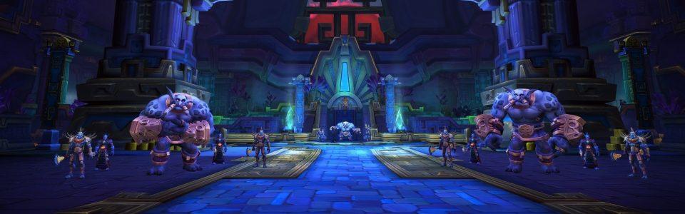 WoW Battle for Azeroth: Svelata la patch 8.2, Rise of Azshara