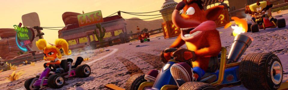 Crash Team Racing Nitro Fueled: remake annunciato con un trailer