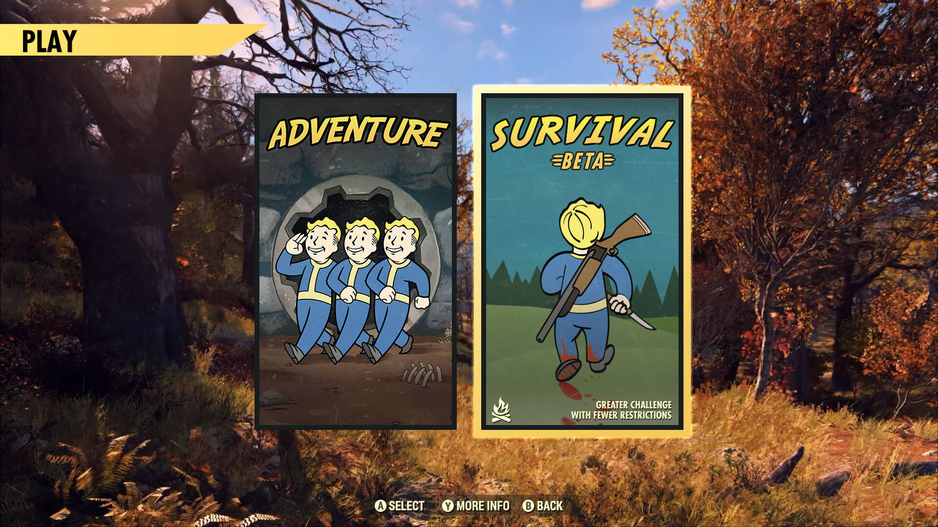 Fallout 76 survival