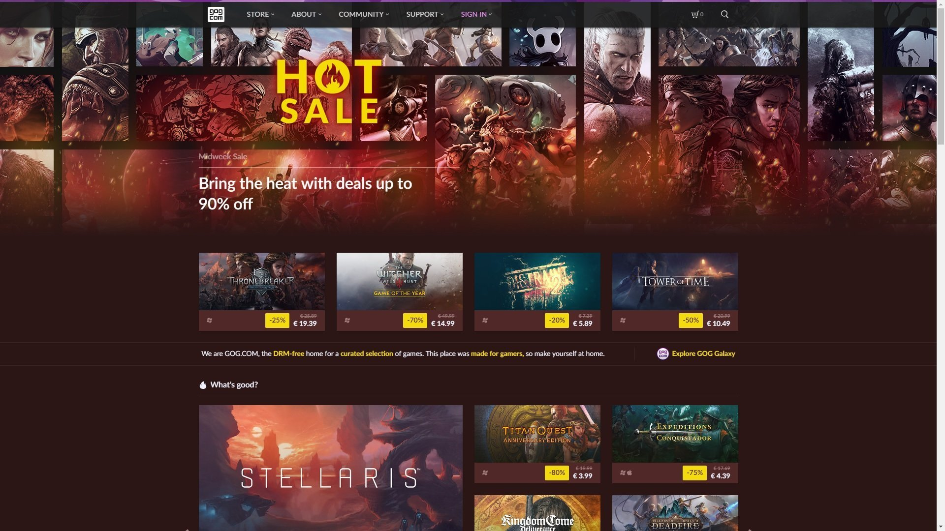 Epic Games Store Steam gaben gabe newell GOG