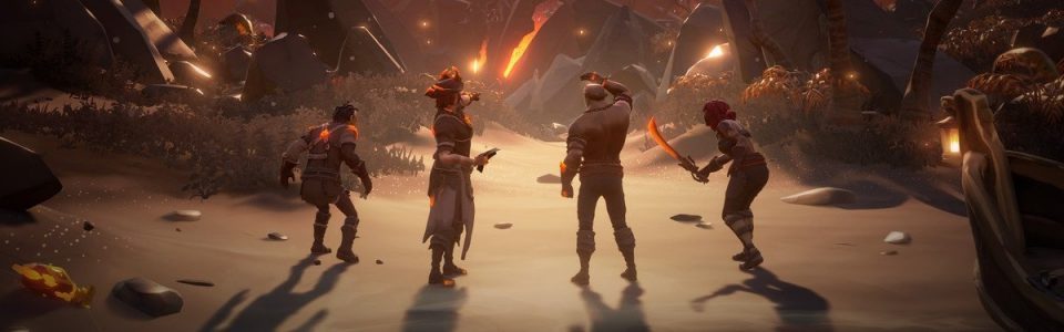 Sea of Thieves: novità in arrivo per quest, storia e PvP