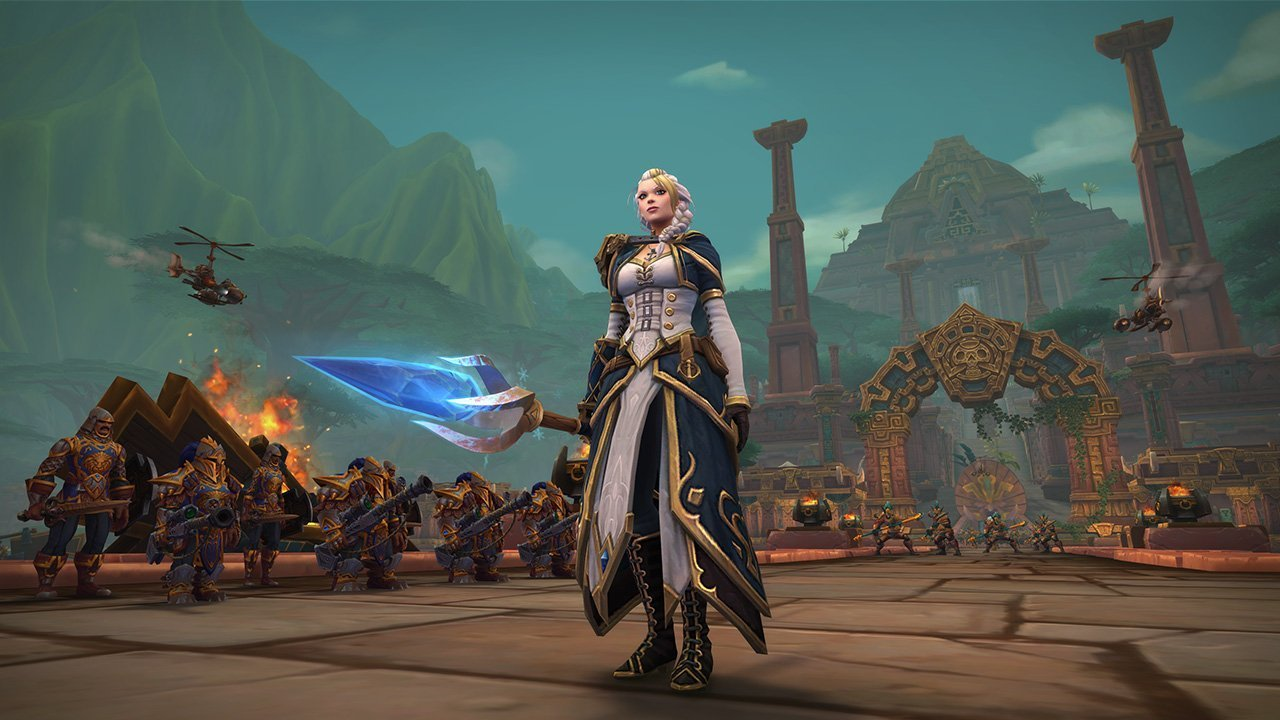 World of Warcraft Battle for Azeroth Tides of Vengeance wow Battaglia di Dazar'alor