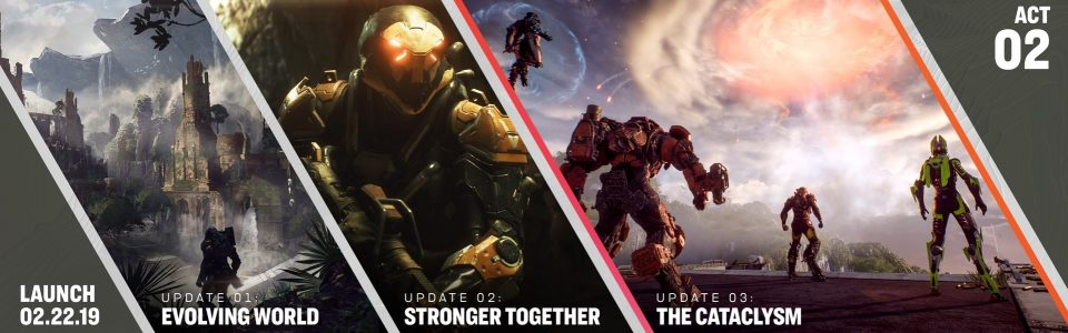 Anthem: nuovo trailer sull'endgame, svelata la roadmap post-lancio