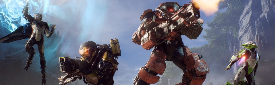 Anthem: l'ultima patch aumenta il drop rate di Mitici e Leggendari