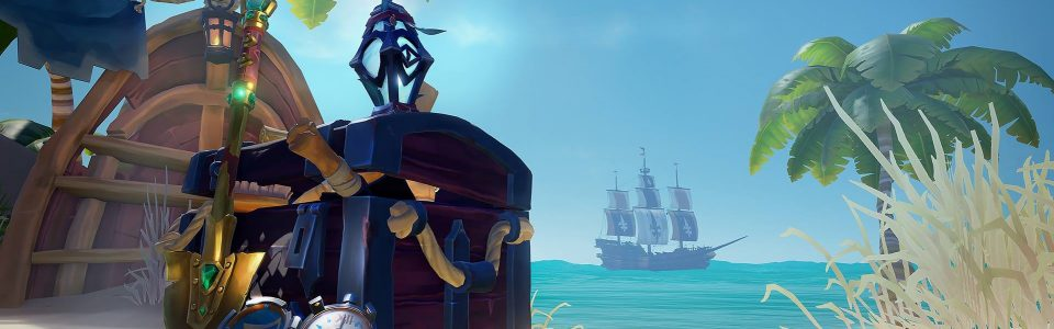 Sea of Thieves in arrivo su Steam, annunciato l'update Lost Treasures