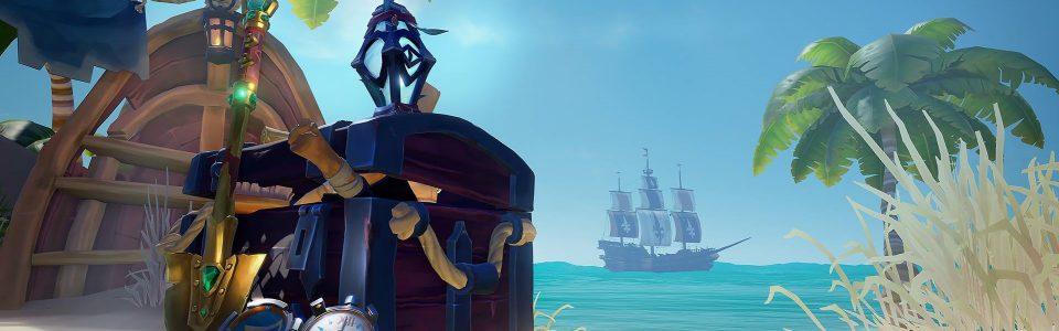 Sea of Thieves in arrivo su Steam, annunciato l'update Lost Treasures