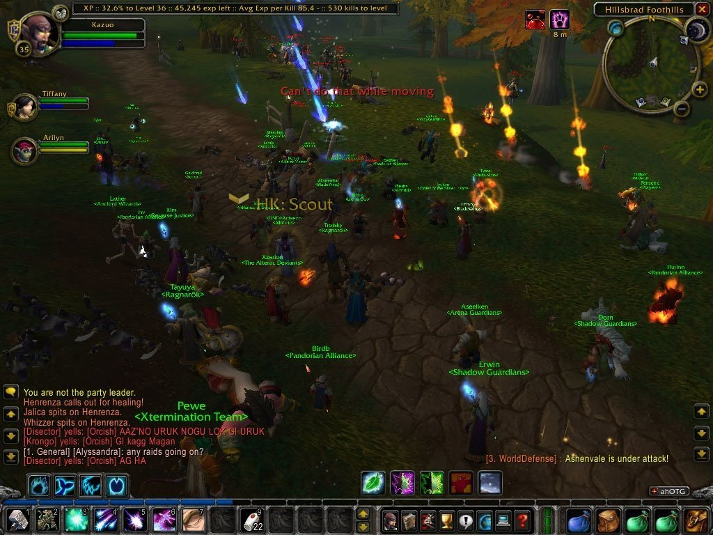 wow classic World of Warcraft classic Southshore Tarren MIll