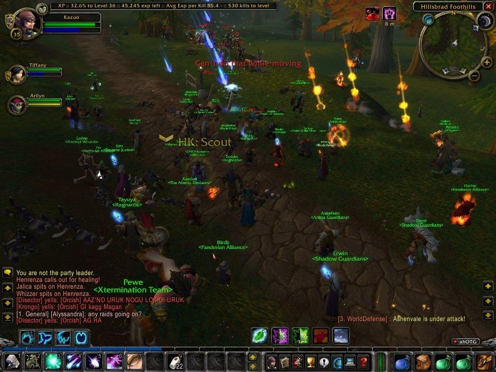 wow classic World of Warcraft classic Southshore Tarren MIll