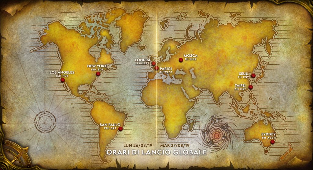 world of warcraft wow classic release date
