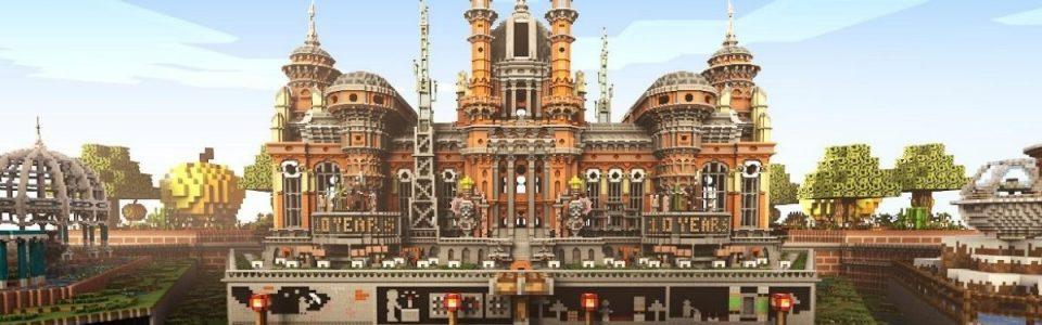 Minecraft compie 10 anni e festeggia con una speciale mappa gratuita