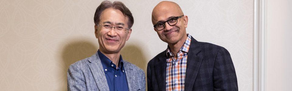 Sony e Microsoft si alleano per migliorare i loro servizi di cloud gaming