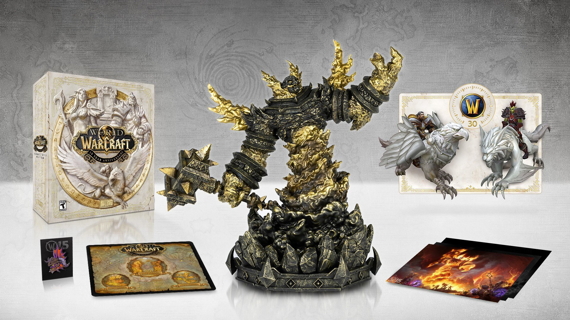 World of Warcraft 15th Anniversary Collector's Edition wow