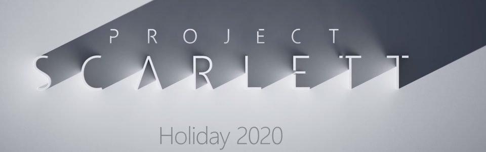 Xbox Scarlett è la nuova console di Microsoft, sarà retrocompatibile