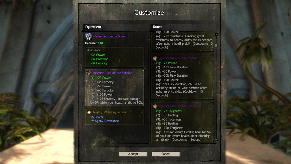 Guild Wars 2 Legendary Upgrade