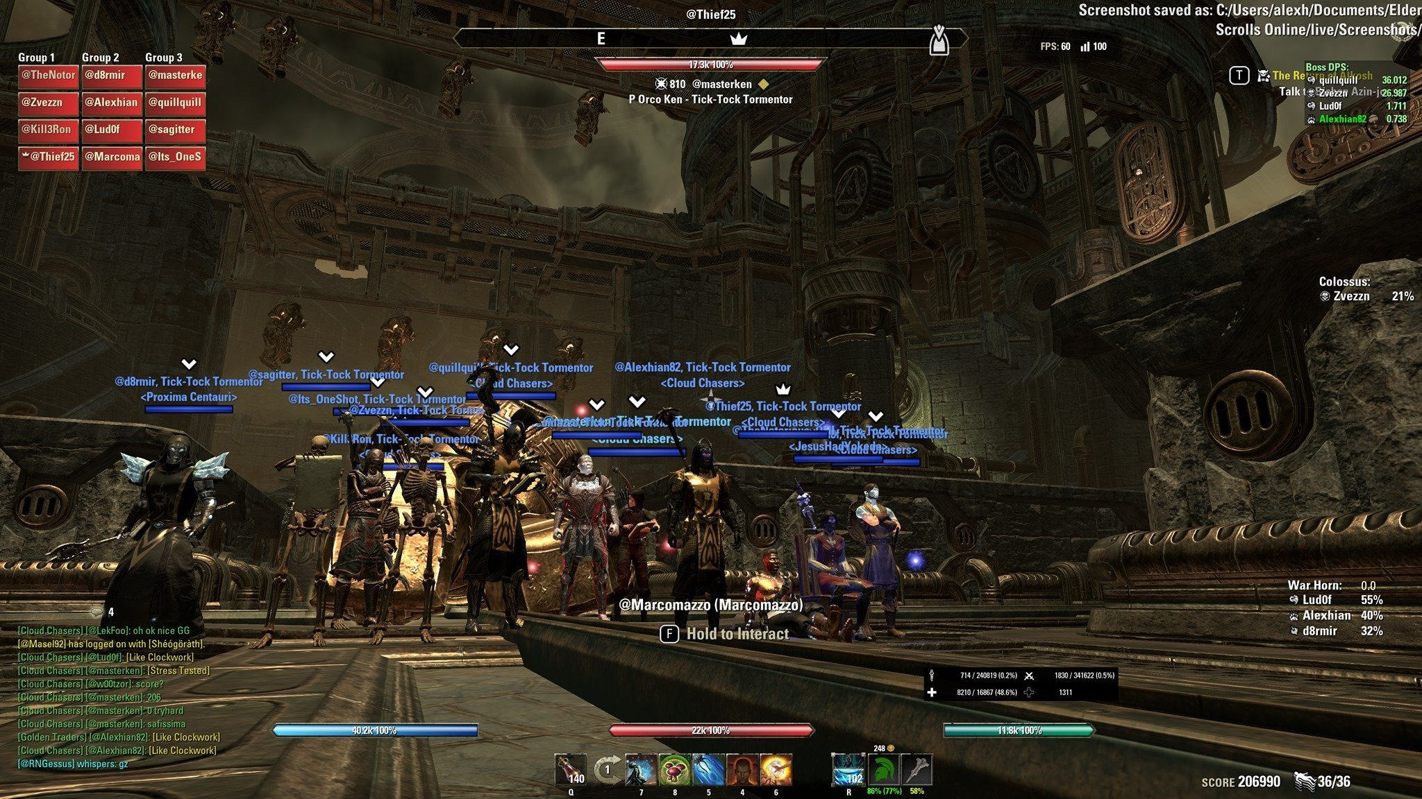 Bacheca Gilde Cloud Chasers The Elder Scrolls Online ESO