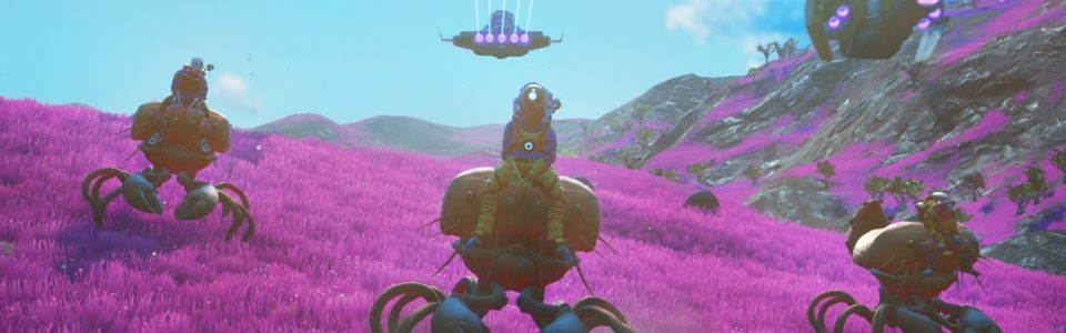 No Man's Sky: svelate tutte le feature di Beyond, taming e 32 giocatori per pianeta