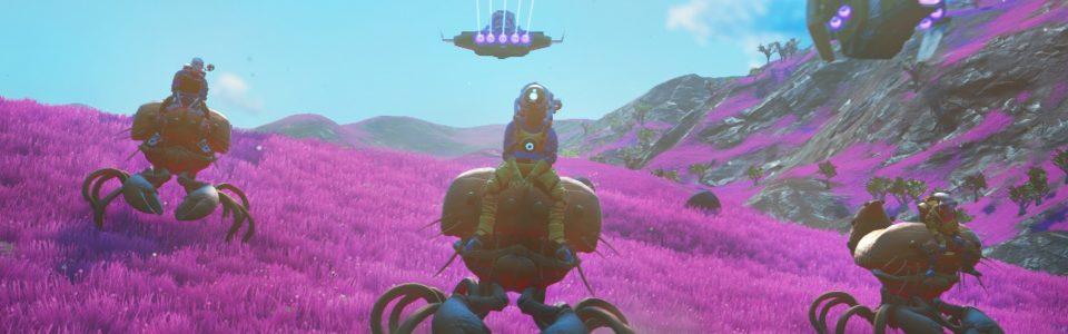 No Man's Sky: svelate tutte le feature di Beyond, taming e 32 giocatori per pianeta