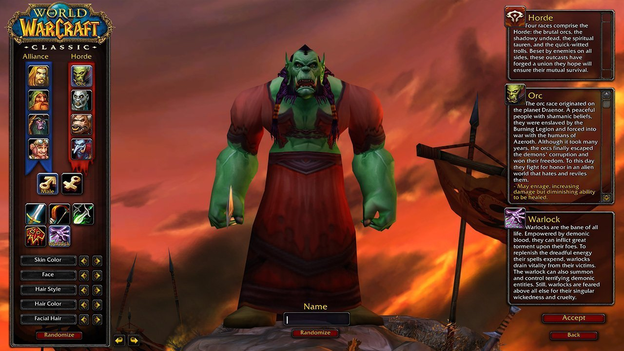 World of Warcraft server