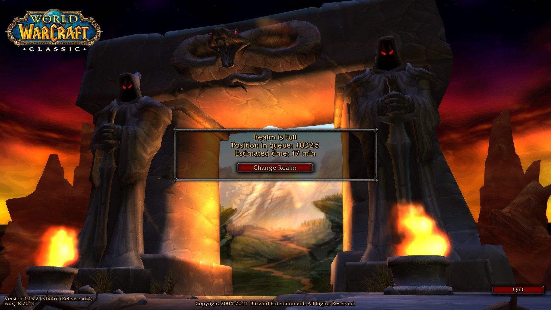 World of Warcraft Classic wow classic wow vanilla