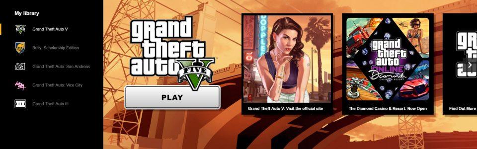 È arrivato su PC il Rockstar Games Launcher, in omaggio GTA: San Andreas