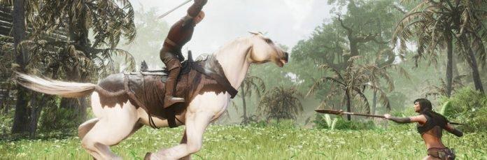 Conan Exiles scontato del 50%, mount in arrivo a dicembre