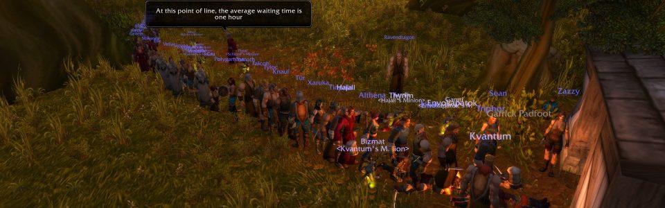 World of Warcraft Classic: trasferimenti gratuiti del personaggio in arrivo