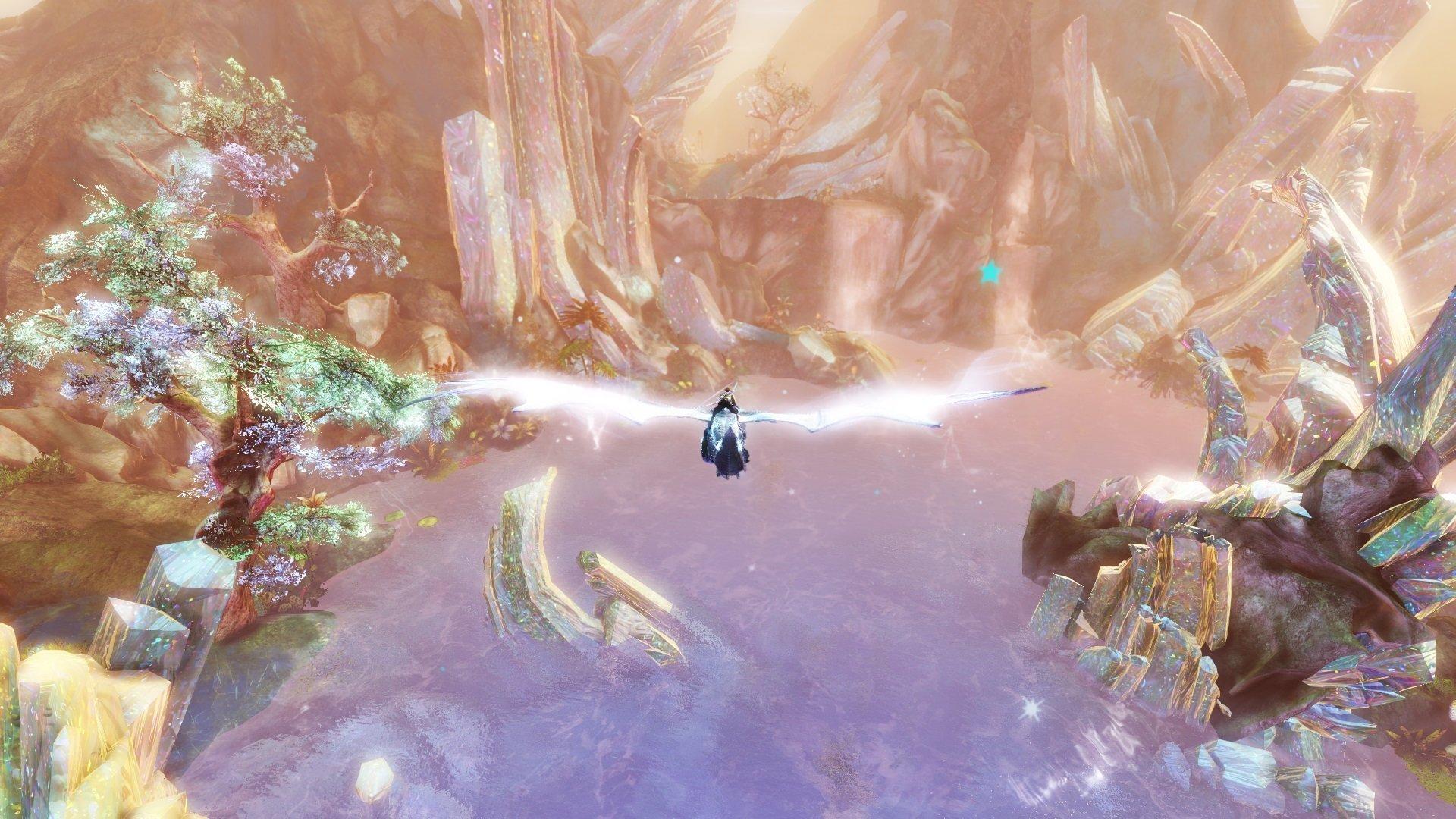 Aurene's Crystal Guild Wars 2 the icebrood saga Bound by Blood guild wars 2 living world