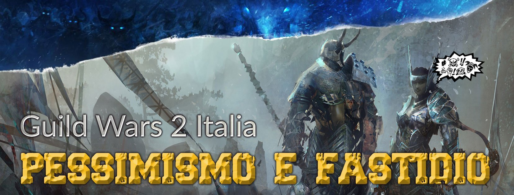 mmo.it partnership Guild Wars 2 Italia Pessimismo e Fastidio partnership mmoit guild wars 2 ita
