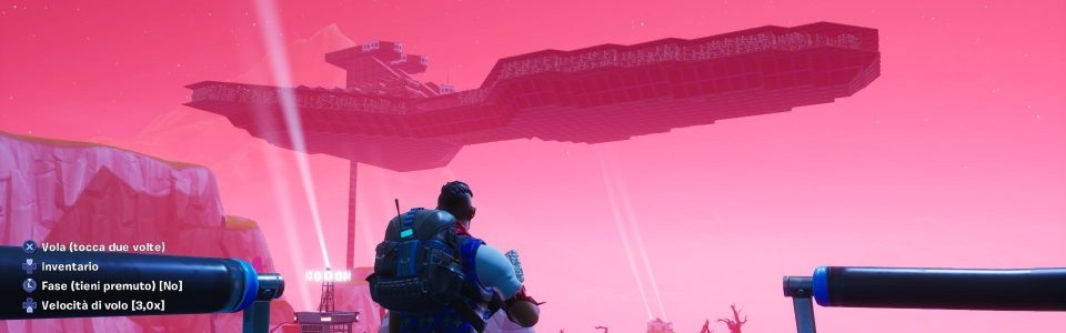 Fortnite: un clan italiano ricrea lo Star Destroyer di Star Wars usando la modalità creativa