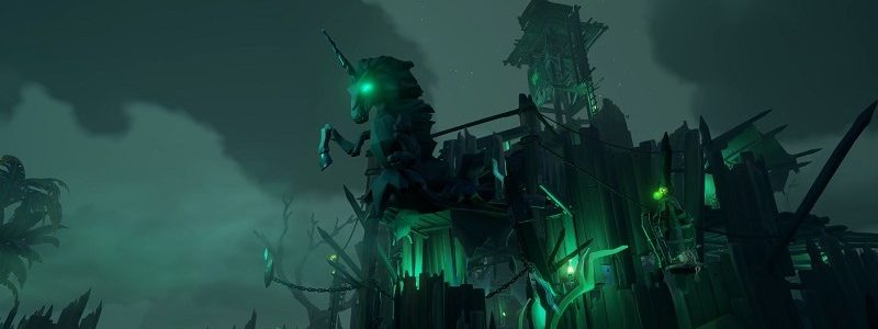 Sea of Thieves: live l'evento di Halloween Fortezza dei Dannati