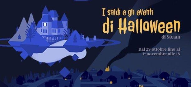 Iniziati i saldi di Steam per Halloween