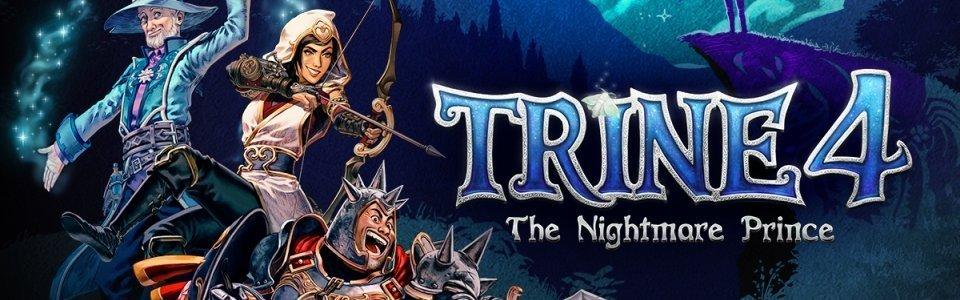 Trine 4: The Nightmare Prince in uscita l'8 ottobre, trailer e dettagli