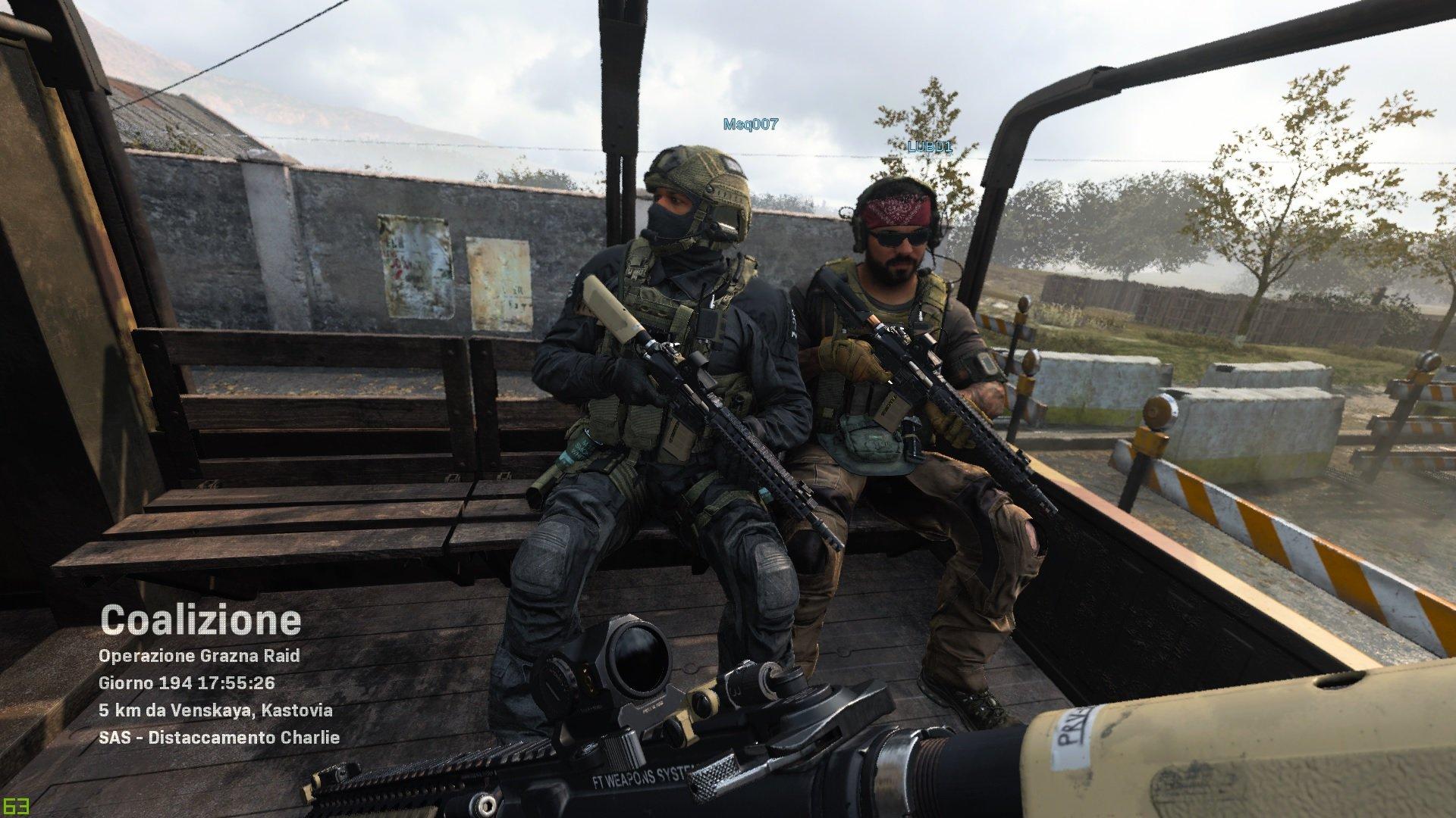COD modern warfare recensione