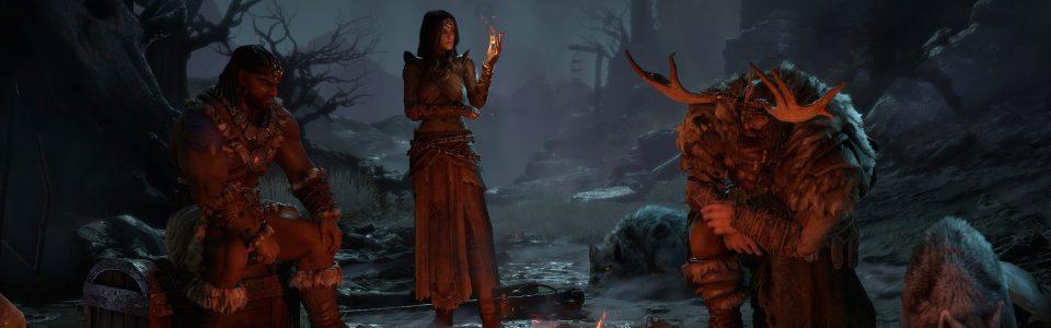 Diablo 4: video di gameplay per Druido, Barbaro e Incantatrice